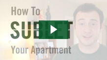 Sublease Agreement - Subletting Your Apartment - JumpOffCampus