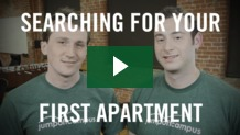 Searching for your first apartment - JumpOffCampus